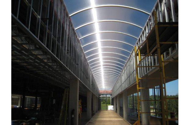 Modular Dome End Acrylic Skylight