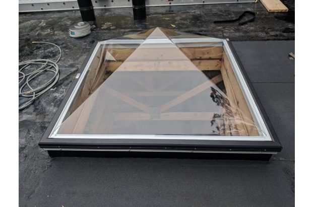 Acrylic Pyramid skylight