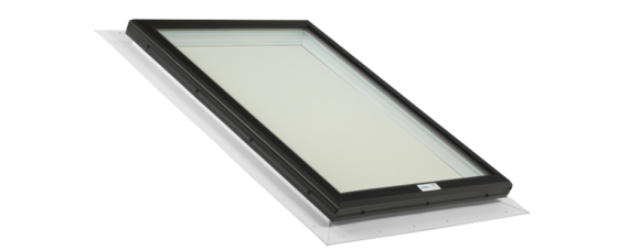 Glass Skylight with PVC Self Flashing Flange
