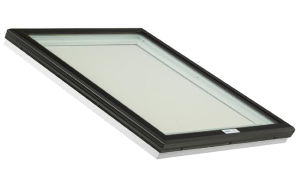 Glass Skylight with PVC Frame