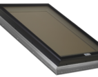 Glass Skylight with Aluminum Self Flashing Flange