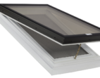Operable Glass Venting Skylight with PVC Self Flashing Flange