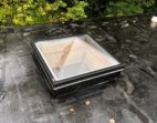 Thermoformed Acrylic Pyramid Skylight with Frost Free Curb Frame