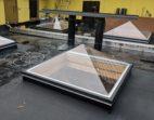 Thermoformed Acrylic Pyramid Skylight