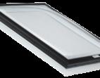 Self Flashing Acrylic Dome Skylight with PVC Flange