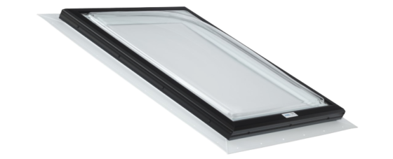 Self Flashing Acrylic Dome Skylight with PVC Flange