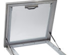 Opened Access Hatch Skylight