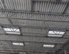 Interior View of Commercial Acrylic Dome Skylights With Aluminum Curbs