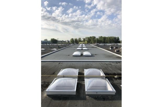 Flat Roof Acrylic Dome Skylight