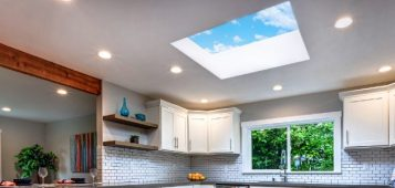 Boosting a home renovation with skylights