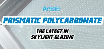 Prismatic polycarbonate for sklights